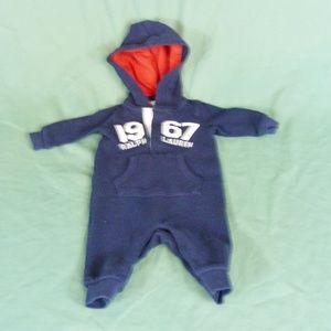 Ralph Lauren Size 3 Months Logo Hoodie Thermal One